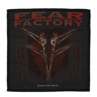 Patch Aufnäher Fear Factory - Archetype - RAZAMATAZ, RAZAMATAZ, Fear Factory