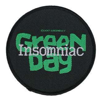 Patch Aufnäher Green Day - Insomniac - RAZAMATAZ, RAZAMATAZ, Green Day