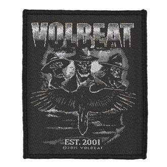 Aufnäher VOLBEAT - OUTLAW RAVEN - RAZAMATAZ, RAZAMATAZ, Volbeat