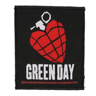 Aufnäher GREEN DAY - HEART GRENADE 1 - RAZAMATAZ - SP2918