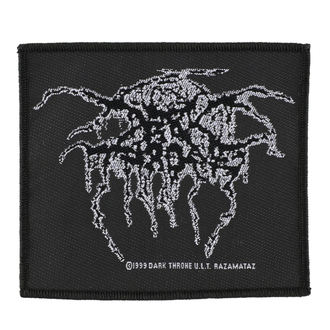 Aufnäher DARKTHRONE - LUREX LOGO - RAZAMATAZ, RAZAMATAZ, Darkthrone