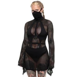 Damen Kleid KILLSTAR - Neo Nyx Mask - Schwarz, KILLSTAR