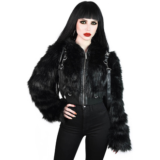 Damen Jacke KILLSTAR - Night Creature Faux-Fur, KILLSTAR