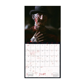 A NIGHTMARE ON ELM STREET 2021 Kalender, NNM, Nightmare - Mörderische Träume