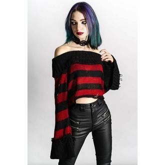 Damen Pullover KILLSTAR - Nightmare Knit - Schwarz / Blut, KILLSTAR