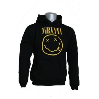 Herren Hoodie Nirvana 'Smiley', LIVE NATION, Nirvana