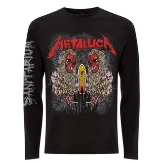 Herren-T-Shirt langarm Metallica - Sanitarium - Schwarz, NNM, Metallica