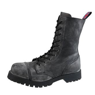 Schuhe Boots NEVERMIND - 10-Loch - Black Anthrax, NEVERMIND