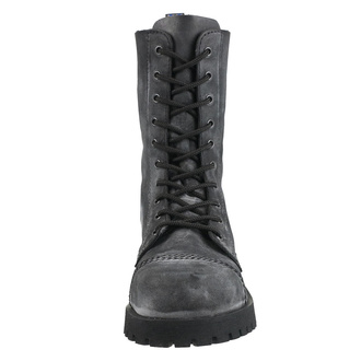 Schuhe Boots NEVERMIND - 10-Loch - Black Anthrax, NEVERMIND