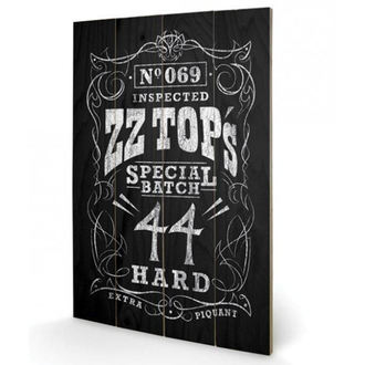 Holzbild ZZ Top - (&&string0&&) - PYRAMID POSTERS, PYRAMID POSTERS, ZZ-Top