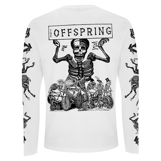 Langärmliges Herren-T-Shirt Offspring - Skeletons- Weiß, NNM, Offspring