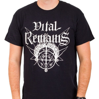Herren T-Shirt Vital Remains - Old School - Schwarz - INDIEMERCH, INDIEMERCH, Vital Remains
