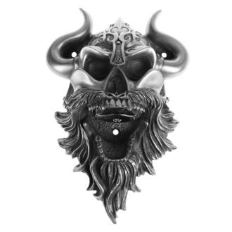 Wandflaschenöffner Wikinger - Skull (Silver Finish) - BEER BUDDIES, BEER BUDDIES