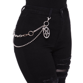 Kette KILLSTAR - Pentagram Key-Chain, KILLSTAR