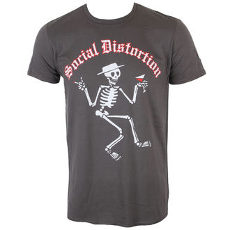 Herren T-Shirt Metal Social Distortion - SKELLY LOGO - PLASTIC HEAD, PLASTIC HEAD, Social Distortion