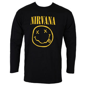 Herren Sweatshirt Metal Nirvana - SMILEY LOGO - PLASTIC HEAD, PLASTIC HEAD, Nirvana