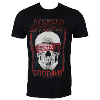 Herren T-Shirt Metal Avenged Sevenfold - GODDAMN - PLASTIC HEAD, PLASTIC HEAD, Avenged Sevenfold