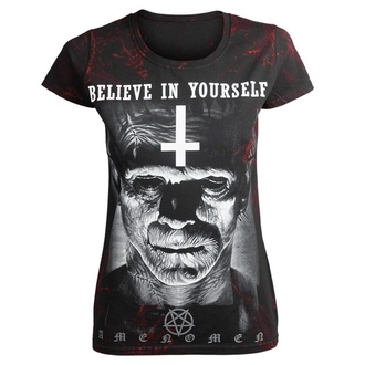 Damen T-Shirt AMENOMEN - FRANKENSTEIN, AMENOMEN
