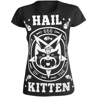 Damen T-Shirt AMENOMEN - HAIL KITTEN, AMENOMEN