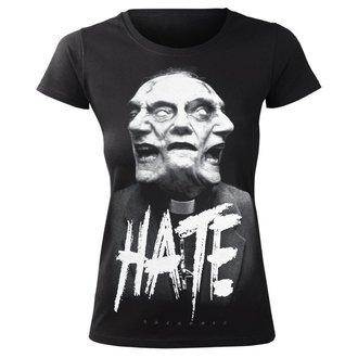 Damen T-Shirt Hardcore - HATE - AMENOMEN, AMENOMEN