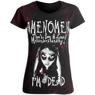 Damen T-Shirt AMENOMEN - NIGHTMARE, AMENOMEN