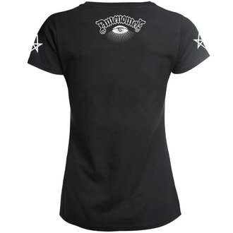 Damen T-Shirt Hardcore - SATAN BLESS YOU - AMENOMEN, AMENOMEN