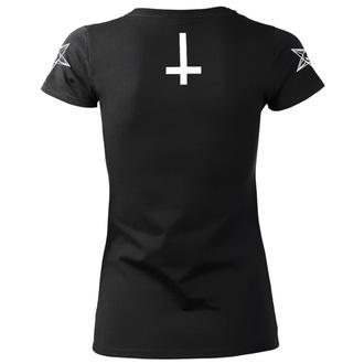 Damen T-Shirt Hardcore - SATAN IS REAL - AMENOMEN, AMENOMEN
