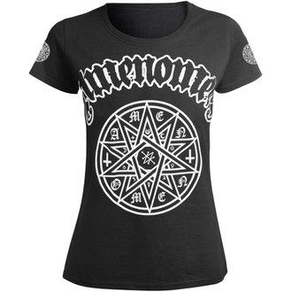 Damen T-Shirt Hardcore - STAR - AMENOMEN, AMENOMEN