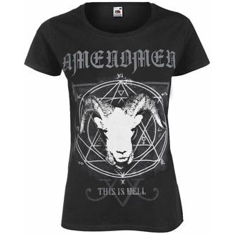 Damen T-Shirt AMENOMEN - THIS IS HELL, AMENOMEN