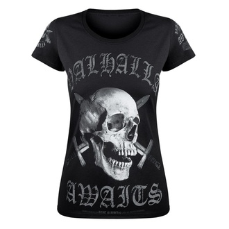 Damen T-Shirt VICTORY OR VALHALLA - SKULL, VICTORY OR VALHALLA