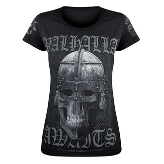 Damen T-Shirt VICTORY OR VALHALLA - VIKING, VICTORY OR VALHALLA