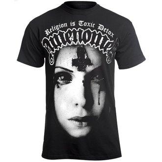 Herren T-Shirt Hardcore - RELIGION IS TOXIC DETOX - AMENOMEN, AMENOMEN