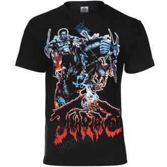 Herren T-Shirt Metal Turbo - LAST WARRIOR - CARTON, CARTON, Turbo