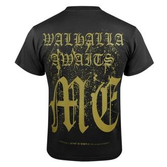 Herren T-Shirt VICTORY OR VALHALLA - CROW SKULL, VICTORY OR VALHALLA