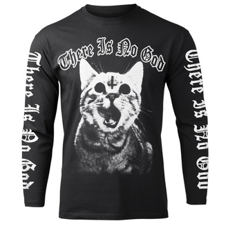 Herren Longsleeve AMENOMEN - THERE IS NO GOD, AMENOMEN