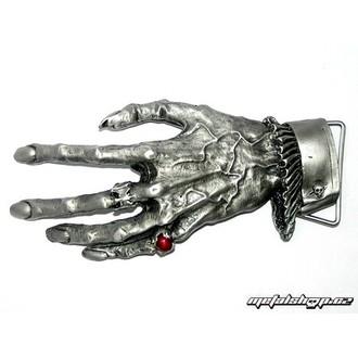 Schnalle für einen Ledergürtel Hand 1, ALCHEMY GOTHIC