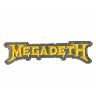Pin MEGADETH - LOGO, RAZAMATAZ, Megadeth
