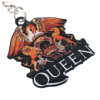 Schlüsselanhänger Queen - Crest - RAZAMATAZ, RAZAMATAZ, Queen