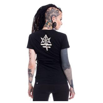 Damen T-Shirt - PSYCHO WITCH - HEARTLESS, HEARTLESS