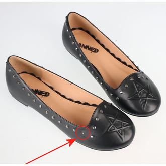 Schuhe für Frauen (Ballerinas) BANNED - BND229BLK - BESCHÄDIGT, BANNED