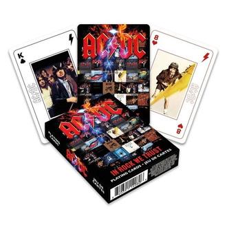 Spielkarten AC/DC, NNM, AC-DC