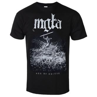 Herren T-Shirt Metal Mgła - Age of excuse - MASSACRE RECORDS, MASSACRE RECORDS, Mgła