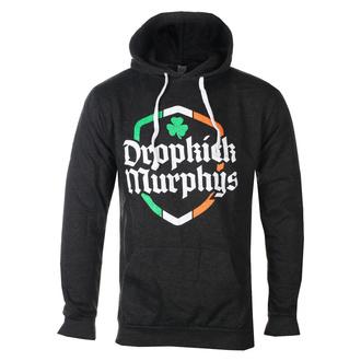 Herren Kapuzenpullover Dropkick Murphys - Ire Shield - Schwarz Heidekraut, KINGS ROAD, Dropkick Murphys