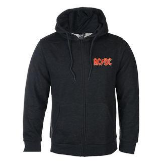 Herren Hoodie AC-DC - Logo - ROCK OFF, ROCK OFF, AC-DC