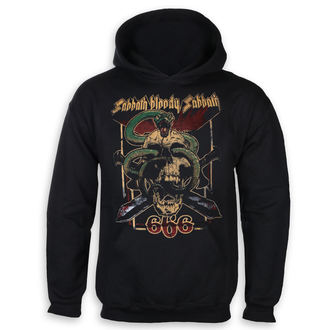Herren Hoodie Black Sabbath - Bloody Sabbath 666 - ROCK OFF, ROCK OFF, Black Sabbath