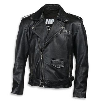 Herren Lederjacke Ramones - BLACK - NNM, NNM, Ramones