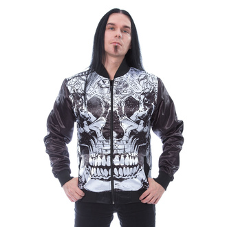 Herren Jacke HEARTLESS - RASMUS - SCHWARZ / WEISS, HEARTLESS