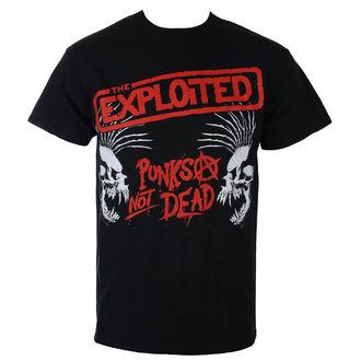 Herren T-Shirt Metal Exploited - PUNKS NOT DEAD I SKULLS - RAZAMATAZ, RAZAMATAZ, Exploited