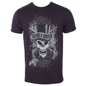 Herren T-Shirt Metal Guns N' Roses - Faded Skull - ROCK OFF - GNRBO01MNR