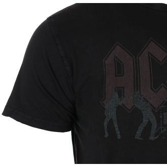Herren T-Shirt Metal AC-DC - Vintage Silhouettes - ROCK OFF, ROCK OFF, AC-DC